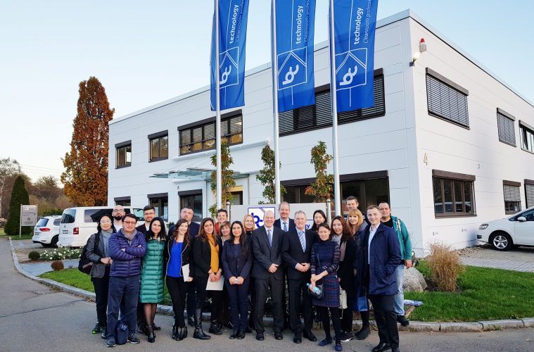Internationale Delegation der Medizintechnik zu Besuch bei bc-technology