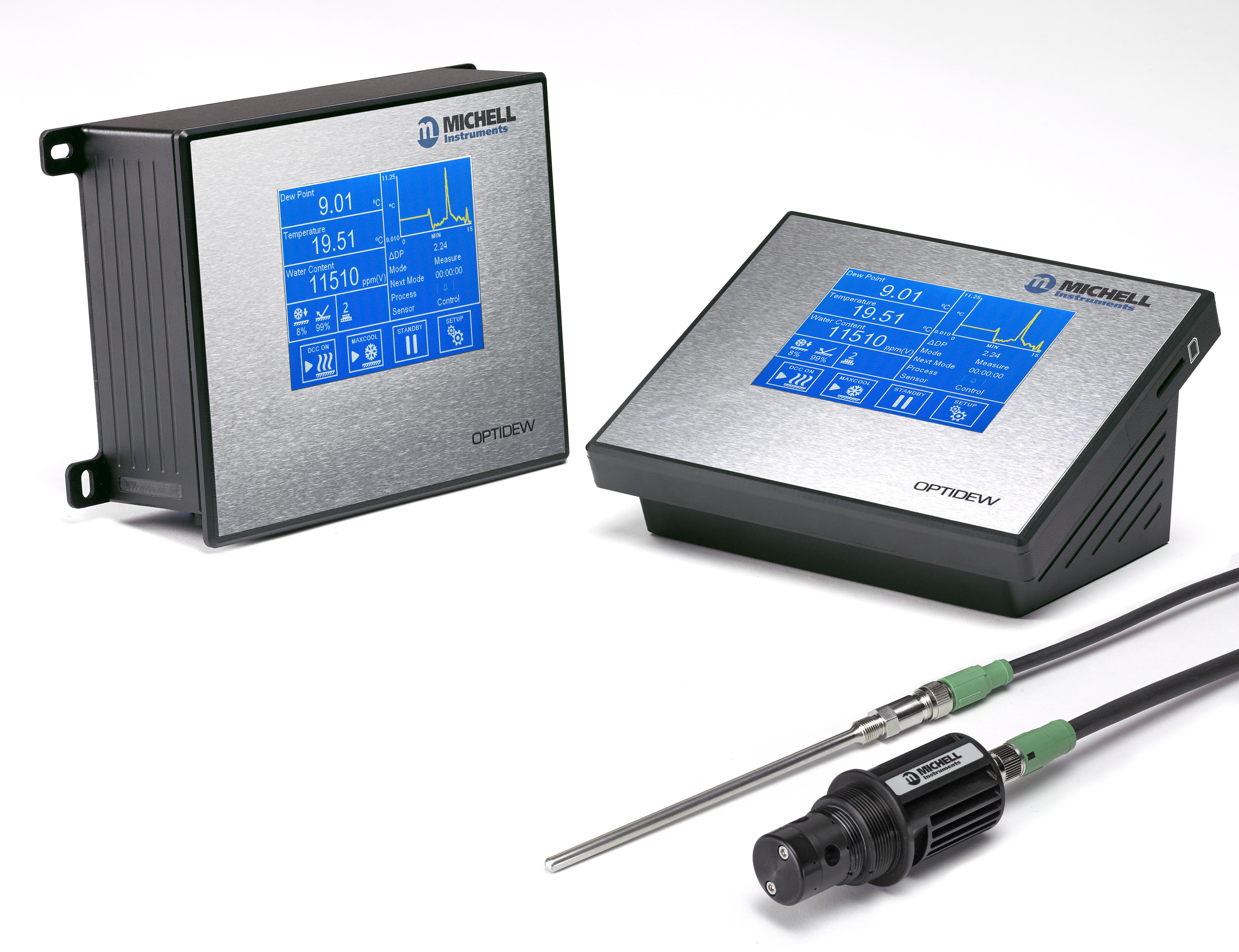 Neuer Taupunktspiegel Hygrometer von Michell mit effizientem Sensordesign setzt Maßstäbe: noch schneller, präziser und robuster als je zuvor!